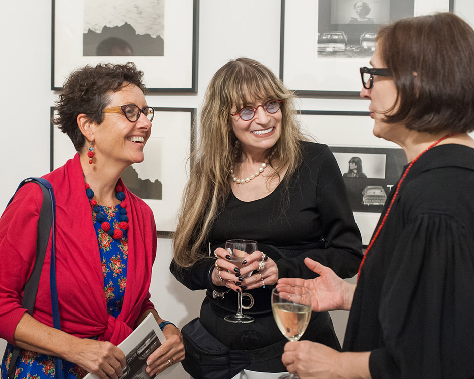 Margaret Fox, Marcia Resnick and Deborah Bell